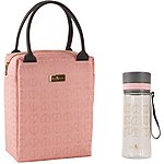 image of Beau and Elliot Blush Lunch Tote and Hydration Bottle