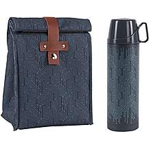 image of Beau and Elliot Circuit Insulated Lunch Bag and Vacuum Flask