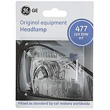 image of GE Headlamp Bulb 477 x 1