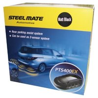 Steelmate PTS400EX Parking Sensor Matt Black