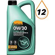 image of Halfords Ford Eco 0W-30 Oil 2L