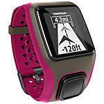 image of TomTom Multisport GPS Dark Pink Sports Watch