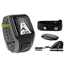 image of TomTom Multisport GPS Sports Watch with Heart Rate Monitor, Speed and Cadence Sensor