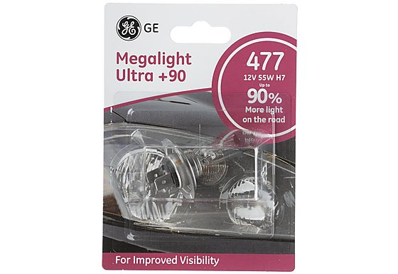 GE Megalight Ultra Plus 90 Premium Bulb 477 x 1