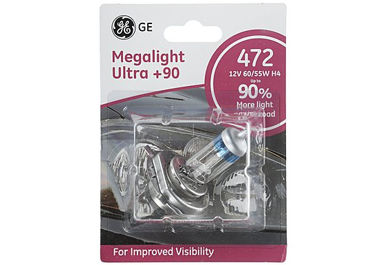GE Megalight Ultra Plus 90 Premium Bulb 472 x 1