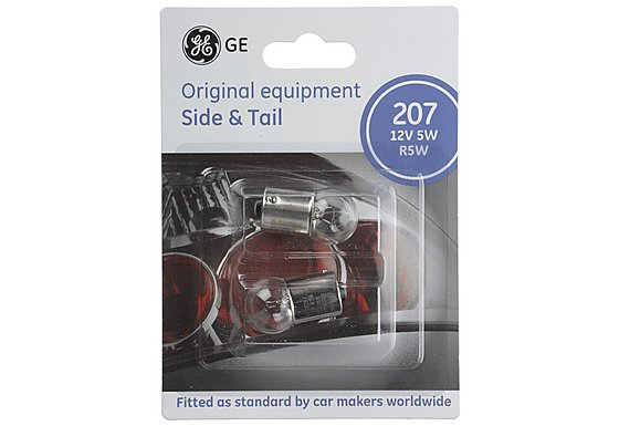 GE Bulbs 207S x 2