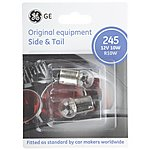 image of GE 245S R10W Car Bulbs x 2