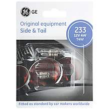 image of GE 233 T4W Car Bulbs x 2