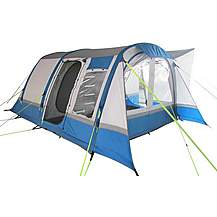 image of OLPro Cocoon Breeze XL Campervan Awning - Blue/Grey