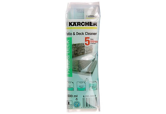 Karcher Patio and Deck Cleaner Pouch 500ml