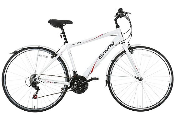 Apollo Envoy Mens Hybrid Bike