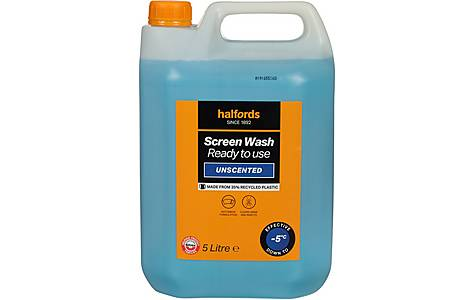 image of Halfords -5 Ready Mixed Screenwash 5L