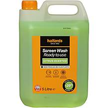 image of Halfords -20 Ready Mixed Screenwash 5L - Citrus