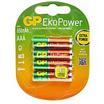 image of GP EkoPower NiMH AAA 4 Pack