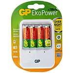 image of GP Power Bank Charger PB420 and 4x AA EkoPower Batteries