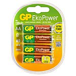 image of GP EkoPower NiMH AA 4 Pack