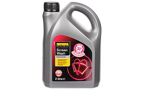 image of Halfords -30 Concentrated Screenwash 2L - Cherry