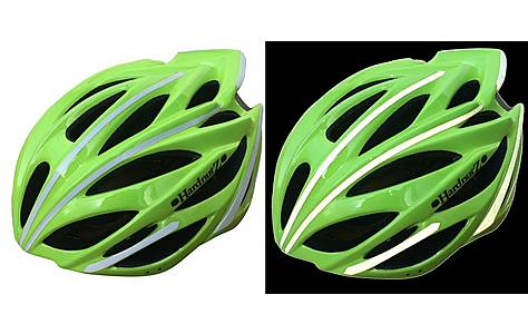 image of HardnutZ Hi Vis Road/MTB Helmet