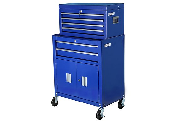 Halfords 6 Drawer Tool Centre