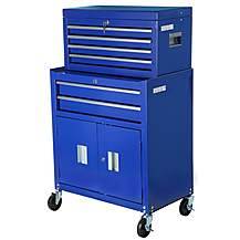 image of Halfords 6 Drawer Tool Centre