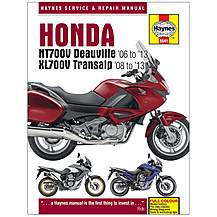 image of Haynes Honda NT700V Deauville & XL700V Transalp Motorcycle Manual
