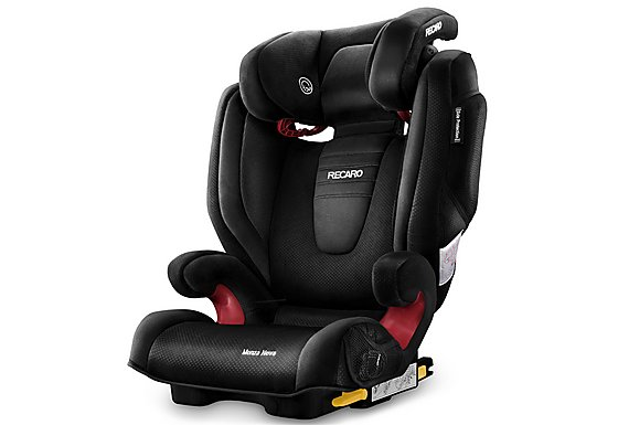 Recaro Monza Nova 2 High Back Booster Seat with SeatFix - Black
