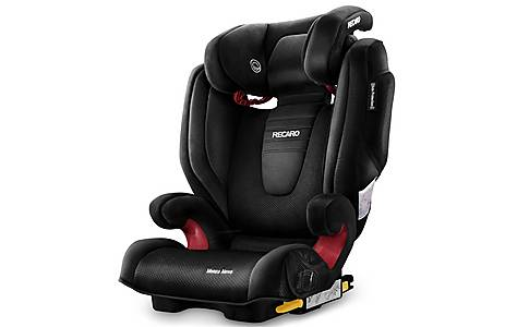 image of Recaro Monza Nova 2 High Back Booster Seat with SeatFix - Black