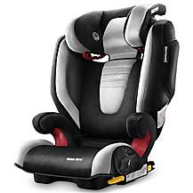 image of Recaro Monza Nova 2 High Back Booster Seat with SeatFix - Graphite