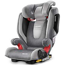 image of Recaro Monza Nova 2 High Back Booster Seat with SeatFix - Shadow