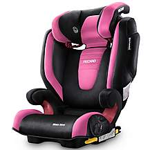 image of Recaro Monza Nova 2 High Back Booster Seat with SeatFix - Pink