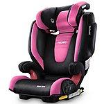 image of Recaro Monza Nova 2 High Back Booster Seat with SeatFix - Pink