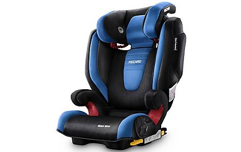 image of Recaro Monza Nova 2 High Back Booster Seat with SeatFix - Saphir