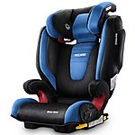 image of Recaro Monza Nova 2 High Back Booster Seat with SeatFix - Saphir