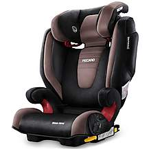 image of Recaro Monza Nova 2 High Back Booster Seat with SeatFix - Mocca