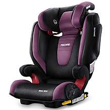 image of Recaro Monza Nova 2 High Back Booster Seat with SeatFix - Violet