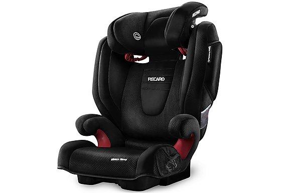 Recaro Monza Nova 2 High Back Booster Seat - Black