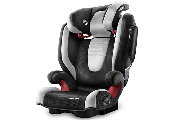 Recaro Monza Nova 2 High Back Booster Seat - Graphite