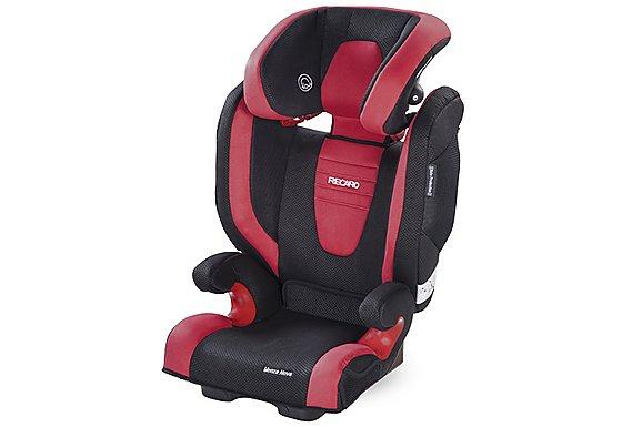 Recaro Monza Nova 2 High Back Booster Seat - Cherry