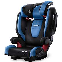 image of Recaro Monza Nova 2 High Back Booster Seat - Saphir