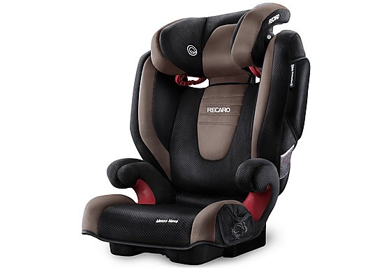 Recaro Monza Nova 2 High Back Booster Seat - Mocca