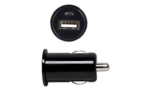 image of Halfords USB Car Charger Socket 1 Amp - Black