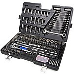 image of Halfords Advanced 200 Piece Socket and Ratchet Spanner Set