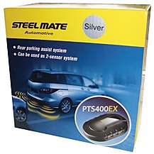 image of Steelmate PTS400EX Silver Parking Sensors
