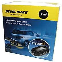 image of Steelmate PTS400EX Gloss Black Parking Sensors
