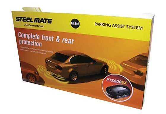 Steelmate PTS800EX Matt Black Parking Sensors
