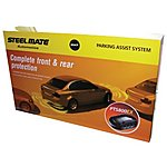 image of Steelmate PTS800EX Gloss Black Parking Sensors