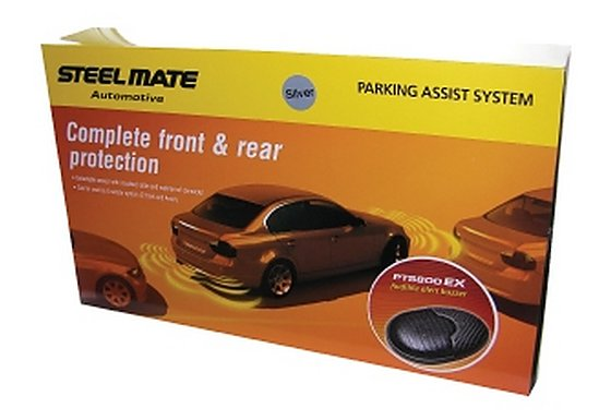 Steelmate PTS800EX Silver Parking Sensors