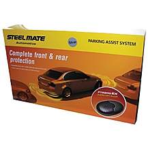 image of Steelmate PTS800EX Silver Parking Sensors