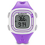 image of Garmin Forerunner 10 GPS Sports Watch Violet & White