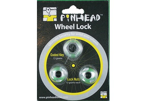 Pinhead Solid Axle Wheel Lock